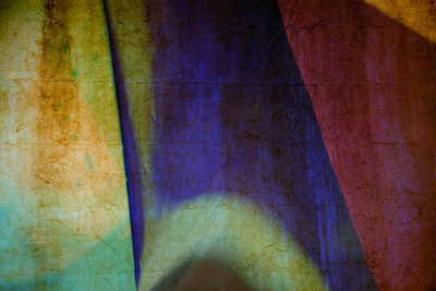 A multi-colored abstract with texture composite.