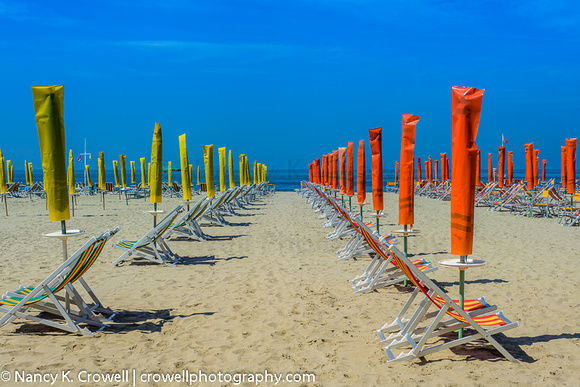 Via del Reggio, along the coast in Tuscany, Italy.