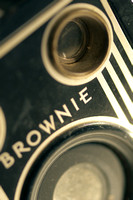 The ubiquitous Brownie camera.