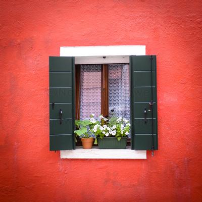 Crowell Photography Writing Europe Burano Window