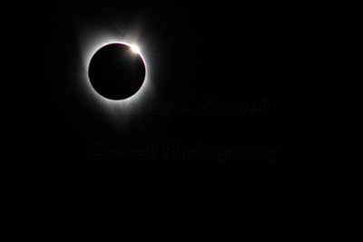 Images of the total solar eclipse.